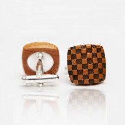 Dřevěné knoflíčky Balance - hruška šach