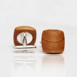 Dřevěné knoflíčky Balance - třešeň
