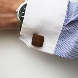 Dřevěné knoflíčky Balance - ořech