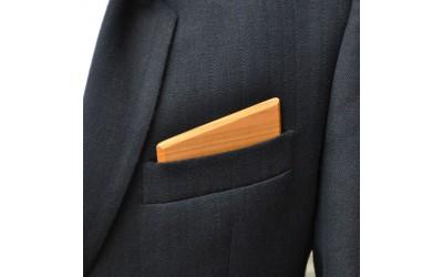 Dřevěný kapesníček Harmony - třešeň evrop.