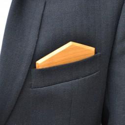 Dřevěný kapesníček Elegance - třešeň evrop.