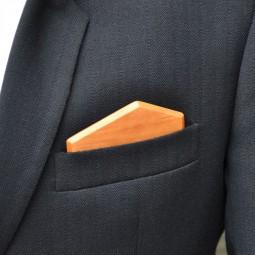 Dřevěný kapesníček Elegance - třešeň amer.