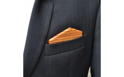 Dřevěný kapesníček Elegance - zebrano