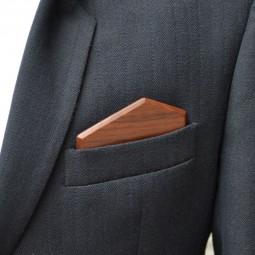 Dřevěný kapesníček Elegance - ořech
