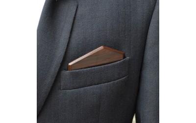 Dřevěný kapesníček Elegance - wenge