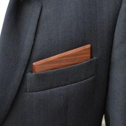 Dřevěný kapesníček Harmony - ořech