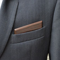 Dřevěný kapesníček Harmony - wenge