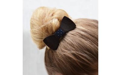 Dřevěný motýlek do vlasů - wenge