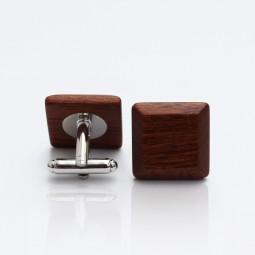 Dřevěné knoflíčky Elegance - mahagon