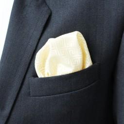 Brokátový kapesníček - IVORY