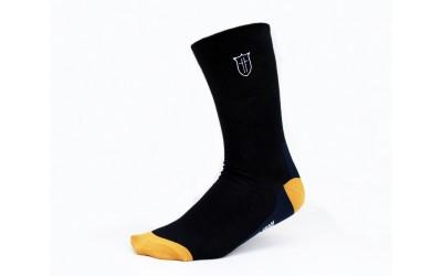 Ponožky s monogramem - tm. modré