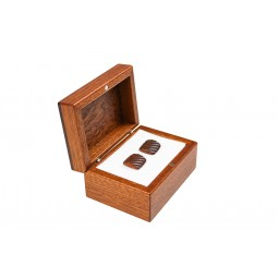 Mahagonová krabička - malá s panty
